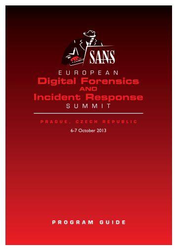 to view the summit agenda. - SANS Institute
