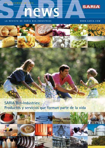 Productos y servicios que forman parte de la vida - Saria Bio ...