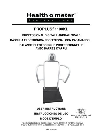 seca scales instruction manual