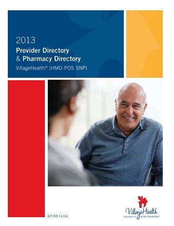 Provider Directory & Pharmacy Directory - Village Health