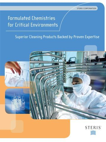 Formulated Chemistries for Critical Environments - Scantago