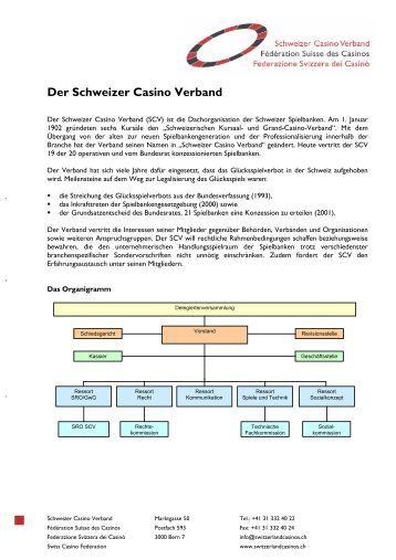schweizer casino verband