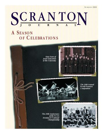 summer 2003 - The University of Scranton