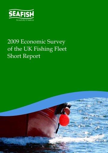 2009 Economic Survey of the UK Fishing Fleet Short Report - Seafish