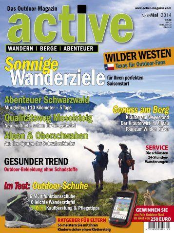 active - Das Outdoor Magazin 2/2014
