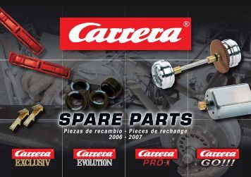 Carrera Spare Parts Brochure 2006/2007