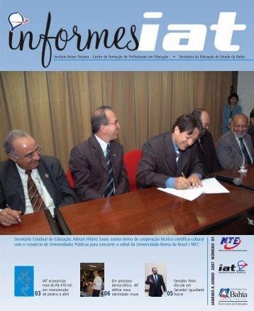 Veja a publicação Informes IAT - Secretaria da Educação
