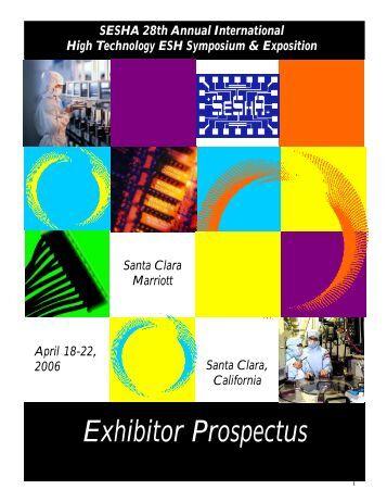 Exhibitor Prospectus - Semiconductor Safety Association
