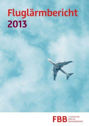 Fluglärmbericht 2013