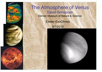 The Atmosphere of Venus
