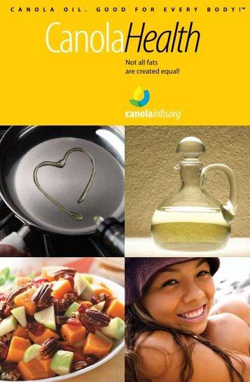 CanolaInfo Health (English) - Canola Council of Canada