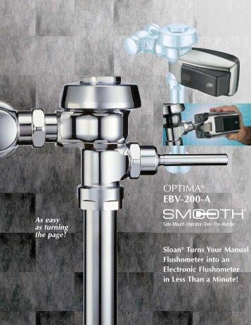 Optima EBV-200-A SMOOTH - Sloan Valve Company