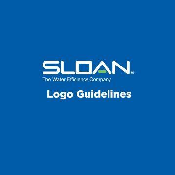 Sloan Logo Guidelines - Sloan Valve Company