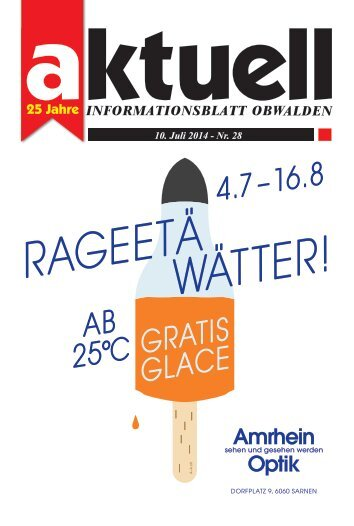 Aktuell Obwalden 28-2014