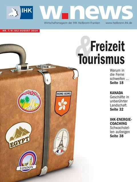 Freizeit & Tourismus| w.news 07-08.2014