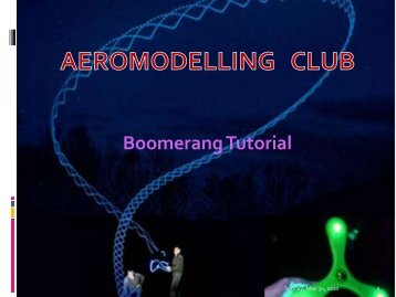 Boomerang Tutorial