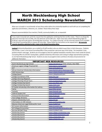 scholarshhips websites