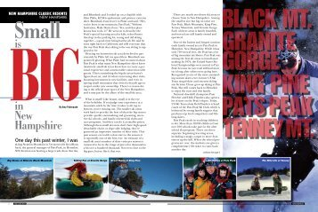 New Hampshire - Snow East Magazine