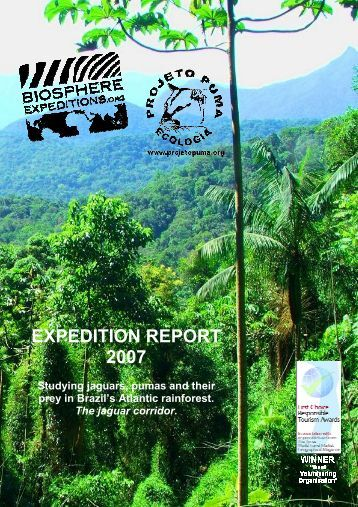 EXPEDITION REPORT 2007 - Biosphere Expeditions
