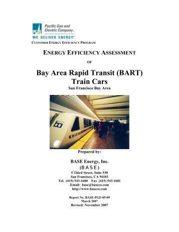 Bay Area Rapid Transit (BART) Train Cars