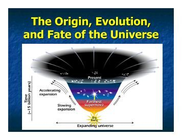 origin fate universe physics According to physics, the universe sprang into existence from a singularity — a term physicists use to describe regions of space that defy the laws of physics they know very little about singularities, but it's known that such regions exist in the cores of black holes .