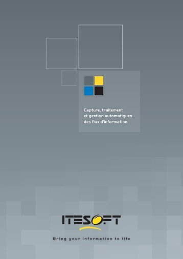 ITESOFT - Solutions-as-a-Service