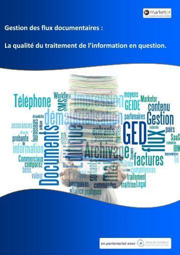 La qualité du traitement de l'information en question.