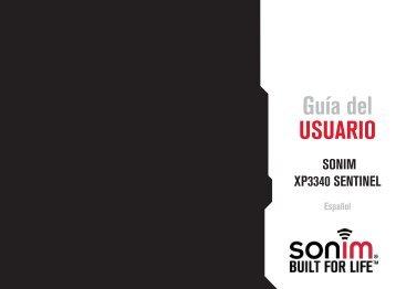 Guía del UsUario - Sonim Technologies