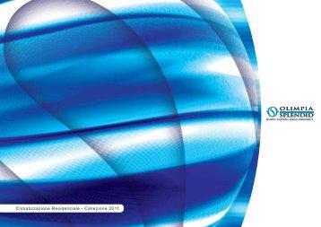 Climatizzazione Residenziale - Collezione 2011 - Olimpia Splendid