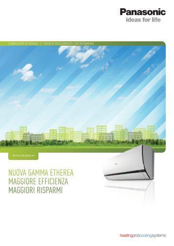 Panasonic Climatizzazione 2012