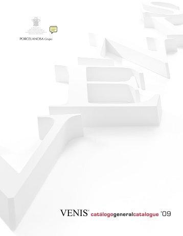 Catálogo general Venis Porcelanosa, revestimientos ... - Venespa