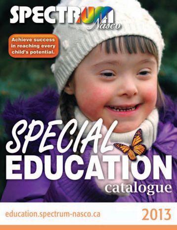 Special Education Catalogue - SPECTRUM Nasco Shopping Mall ...