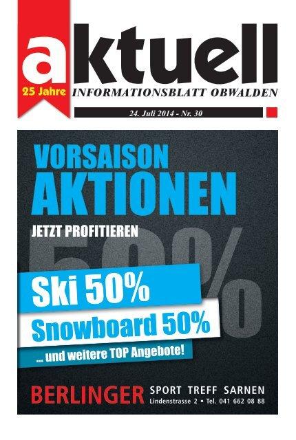 Aktuell Obwalden 30-2014