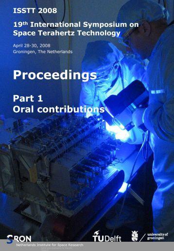 2008 Proceedings .PDF - SRON