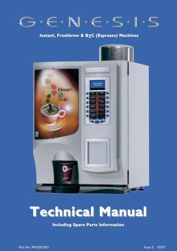 Technical Manual - Crane Merchandising Systems