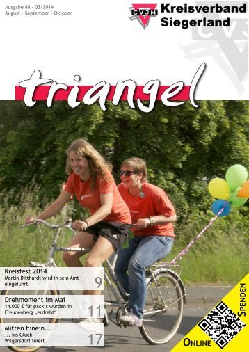 Triangel 2014 - August, September, Oktober