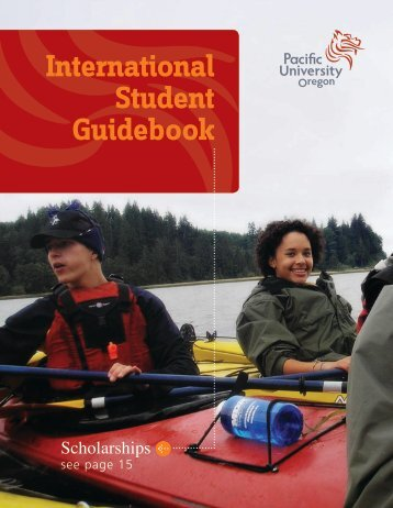 International Student Guidebook - Pacific University