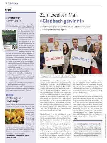 Zum zweiten Mal: »Gladbach gewinnt«