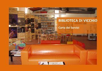 carta dei servizi della Biblioteca - Comune di Vicchio