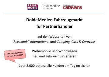DoldeMedien Fahrzeugmarkt für Partnerhändler