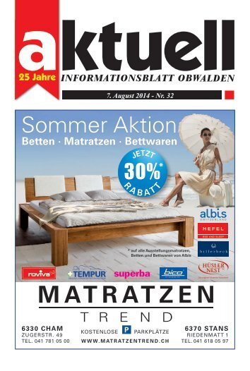 Aktuell Obwalden 32-2014