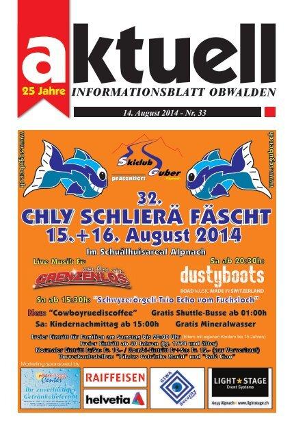 Aktuell Obwalden 33-2014