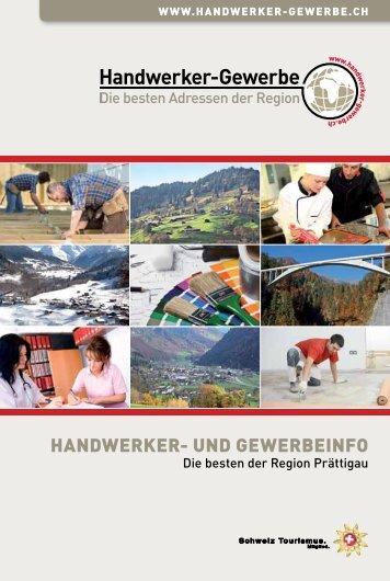 Handwerker- und Gewerbeinfo Prättigau