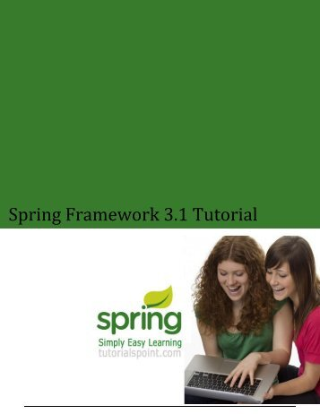Spring Framework 3.1 Tutorial