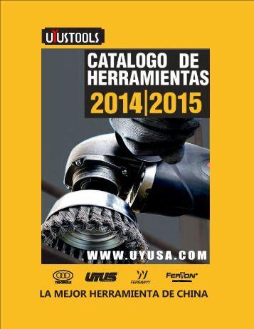 Catálogo Uyustools 2014-2015