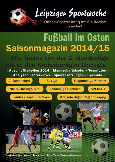 """Saisonmagazin 2014/15 """"Fußball im Osten"""""""