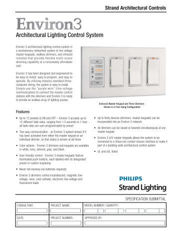 Outlook Architectural Control System Discontinued Strand Lighting