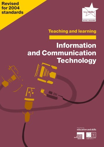 information and communication Information and communication technology  (ict) the study of the technology used to handle information and aid communication the phrase was coined by.
