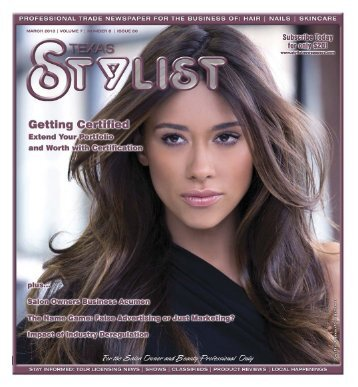 1/2THE - Stylist and Salon Newspapers