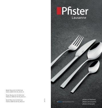 Pfister Lausanne